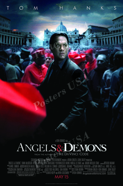 Posters USA Angels amp; Demons Movie Poster Glossy Finish MOV736 $15.95