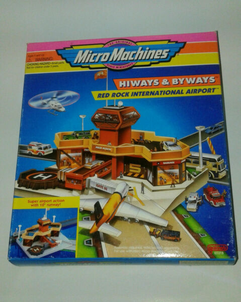 Micro Machines Hiways and Byways Red Rock International Airport NEW SEALED