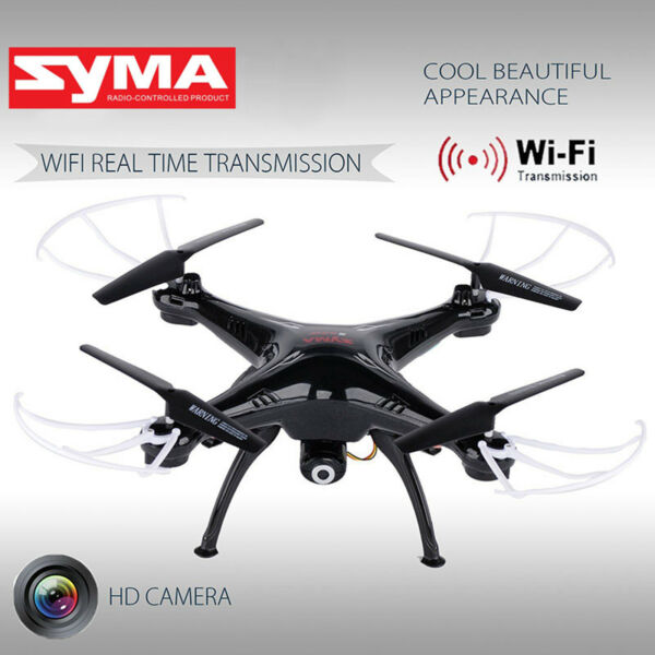 Syma X5SW-V3 Explorers RC Quadcopter FPV Drone 2.4Ghz 4CH with HD WIFI Camera