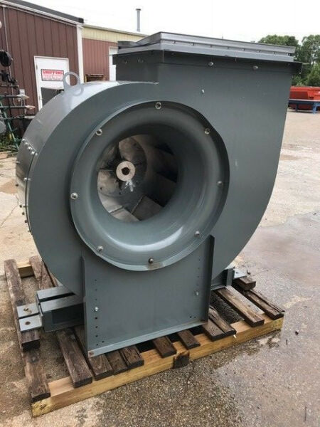 COOK INDUSTRIAL POWER VENTILATOR EXHAUST FAN SQUIRREL CAGE BLOWER 15000 CFM