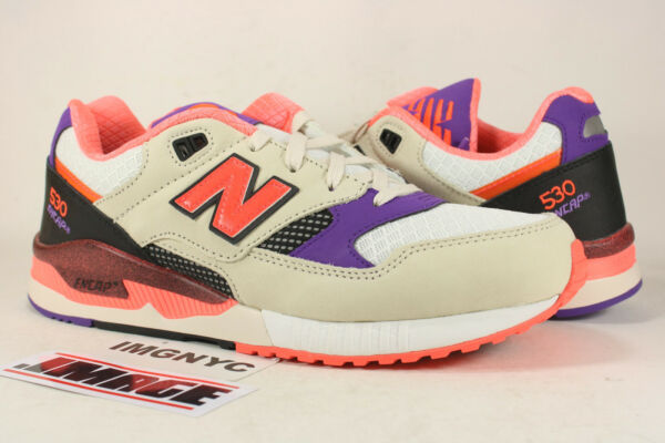NEW BALANCE M530WST NEW SIZE 10 WEST NYC PROJECT CREAM WHITE PURPLE