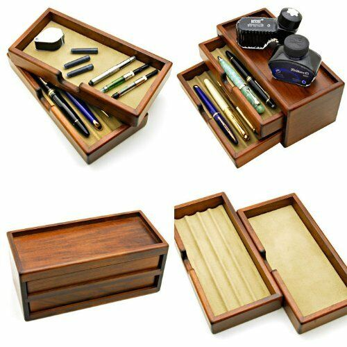 Toyooka craft Fountain pen box KINGDOM note bespoke for 8 pens FS from JAPAN