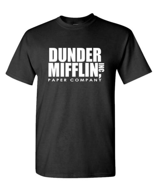 DUNDER MIFFLIN PAPER INC office tv show - Mens Cotton T-Shirt