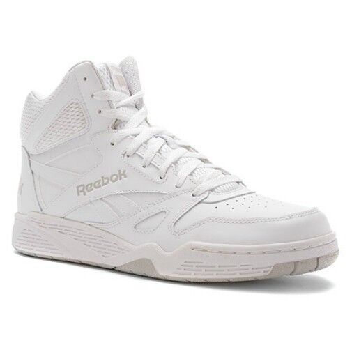 Reebok Classic Royal BB4500 High Top Sneaker in All White in Sizes 11