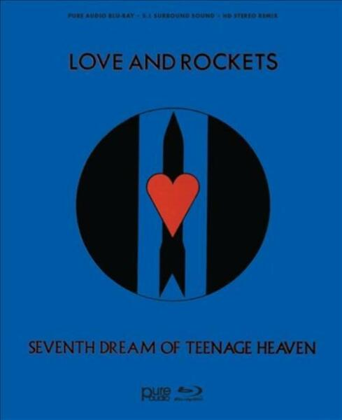 LOVE AND ROCKETS SEVENTH DREAM OF TEENAGE HEAVEN NEW BLU RAY DISC $24.74