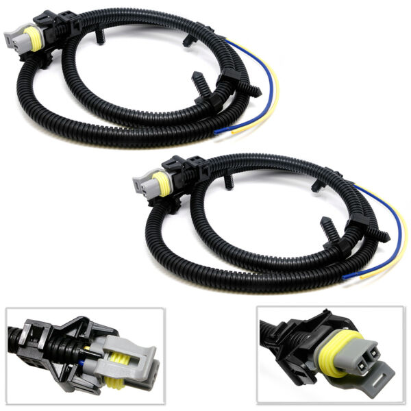 2X ABS Wheel Speed Sensor Wire Harness For Chevrolet Impala Monte Carlo Uplander