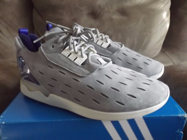 Adidas ZX 8000 Blue Boost Gray Men's Running Shoes Size 11 New w/Box  B25871