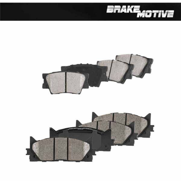 Front And Rear Performance Ceramic Brake Pads ES300H ES350 Toyota Avalon Camry