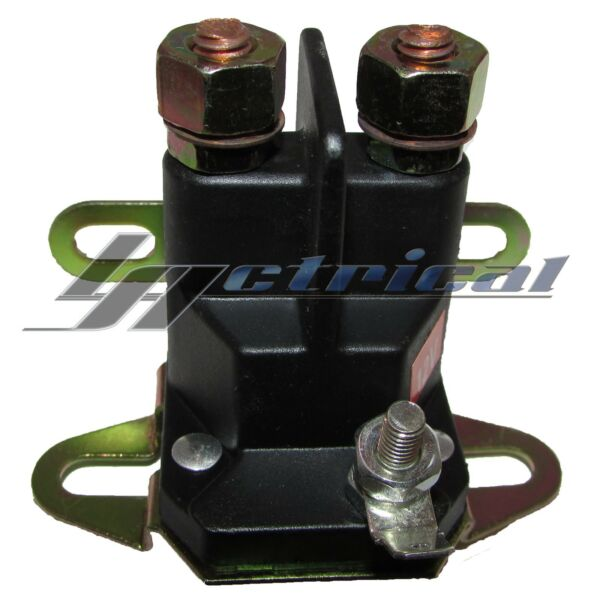SWITCH SOLENOID RELAY 12V 3-TERMINAL FOR BOBCAT 48035A 36699-104 PL4007 48106