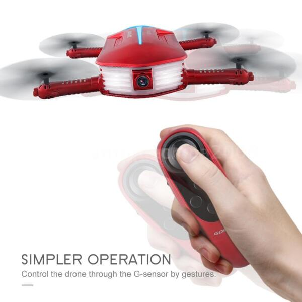GoolRC T37 Mini 2.4G 6-Axis Gyro WIFI FPV 720P HD Camera Pocket Drone P4K6