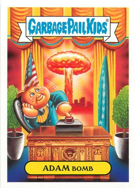 2017 TOPPS GARBAGE PAIL KIDS ADAM-GEDDON - PICK  CHOOSE YOUR CARDS