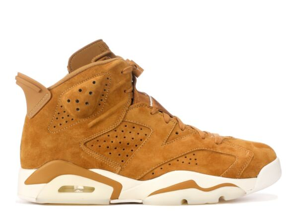 SALE Nike Air Jordan 6 Vi Golden Harvest Wheat 384664-705