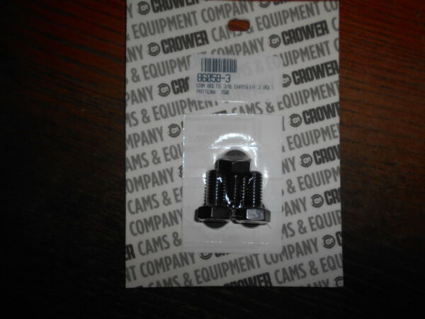 New Crower Cam Bolts Washers Mopar 3 bolt Small Block 318 340 360 Solid Dodge SB $14.99