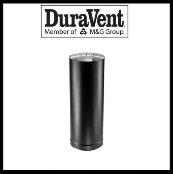 DURAVENT DVL DOUBLE WALL 6quot; Wood Stove Pipe 6quot; Pipe Length #6DVL 06 $34.99