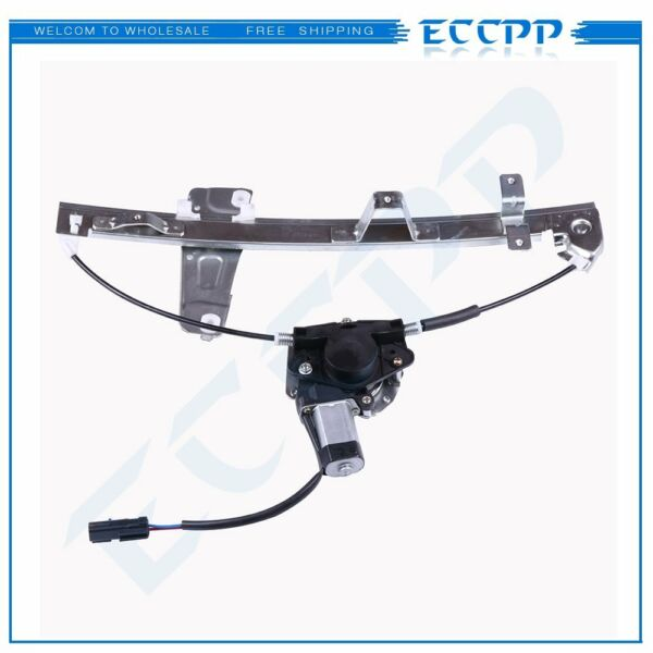 Power Window Regulator With Motor for 2001-2004 Grand Cherokee Front Driver Side