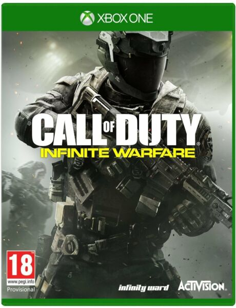 Call of Duty Infinite Warfare Xbox One with Zombies Brand New Factory Sealed