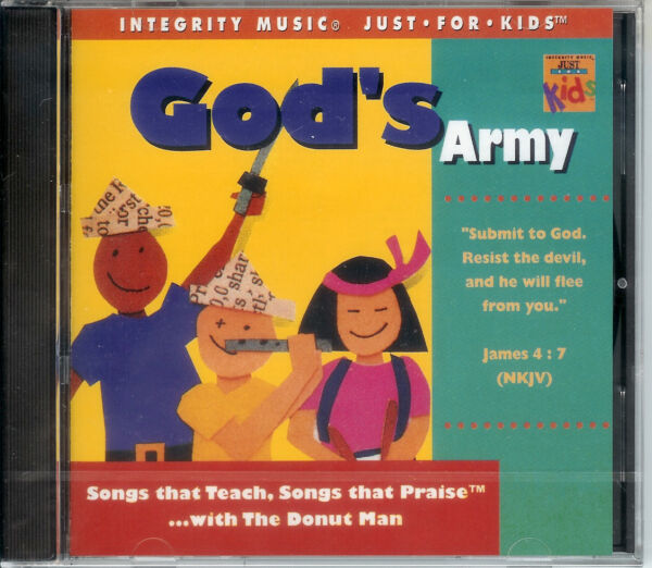 God's Army - by Rob Evans the Donut Man - Children's Music CD