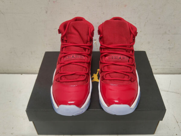 Nike Air Jordan Retro 11 XI 378038-623 Gym Red Size 6Y Sneakers - BRAND NEW!