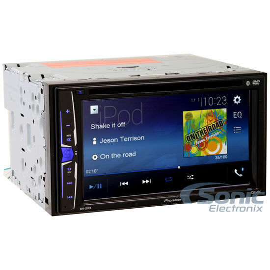 Pioneer AVH-200EX Double 2 DIN Touch Bluetooth DVD/CD Player Car Stereo FM Radio