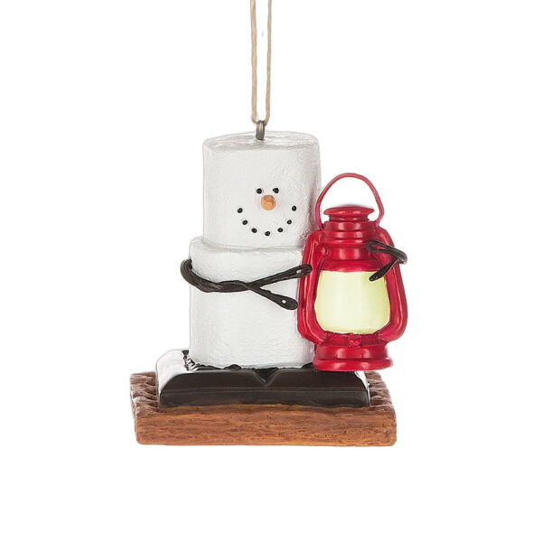 S'more with Lantern Ornament Free Ship USA