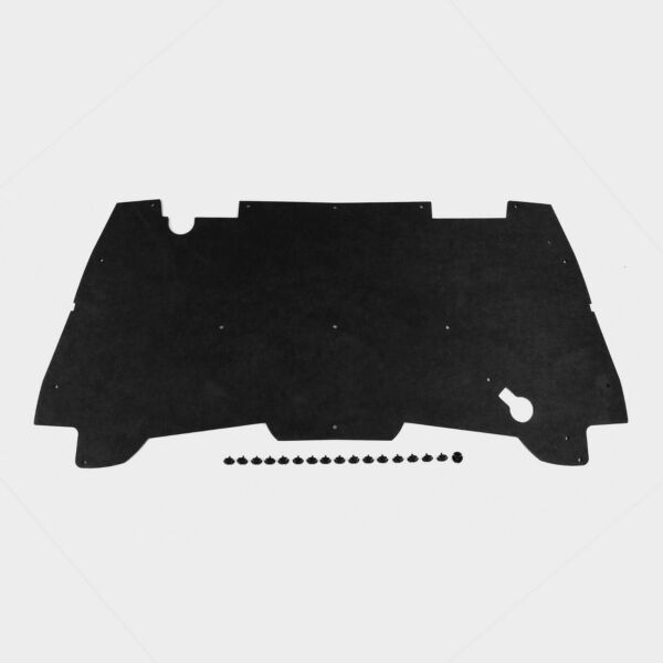 1994-2001 Dodge Ram Pickup Truck Under Hood Insulation Pad & ROUND Clips DMT