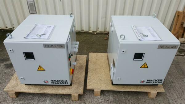 WACKER NEUSON FUE-MS 225A Electronic Voltage and Frequency Converter