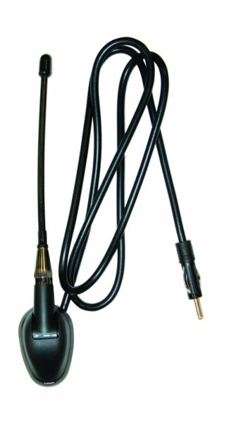 Jensen Heavy Duty Golf Cart or Vehicle Radio Antenna Universal Top or Side Mount