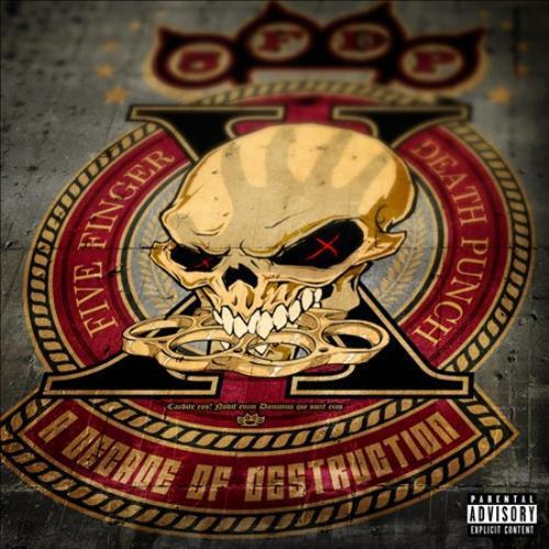 FIVE FINGER DEATH PUNCH A DECADE OF DESTRUCTION PA * NEW CD