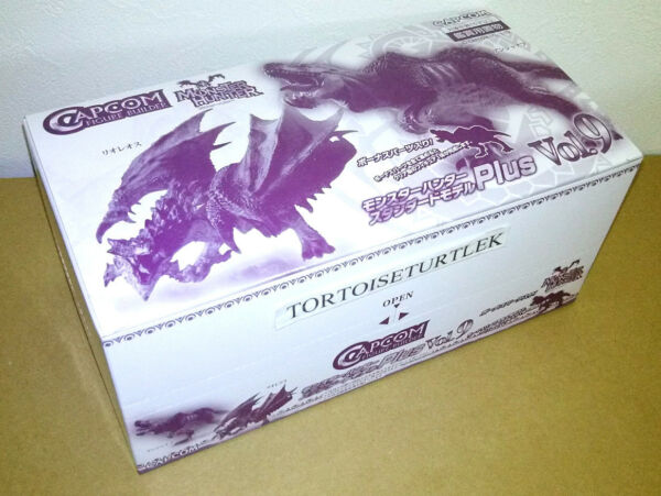 Capcom Figure Builder Monster Hunter Standard Model Plus Vol.9 6Pack BOX Figure