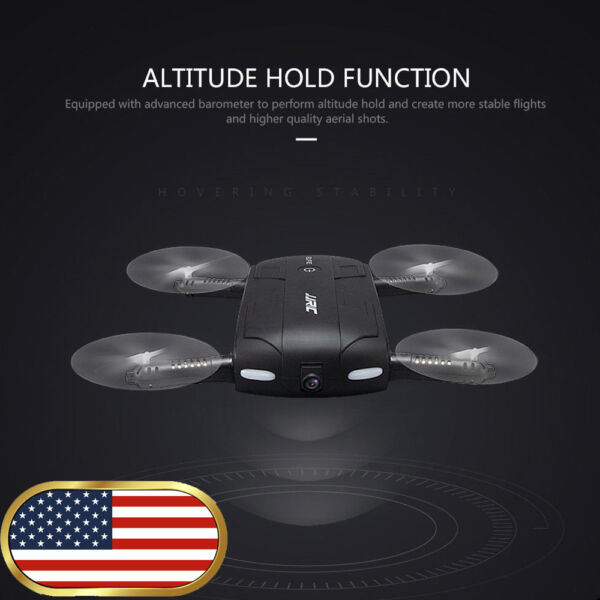 JJRC H37 6-Axis ELFIE WIFI Quadcopter 0.3MP Camera Foldable RC Selfie Drone FPV