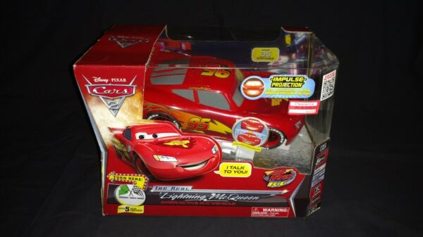 Disney Pixar Cars 2 The Real Lightning McQueen Interactive R/C Vehicle NIB