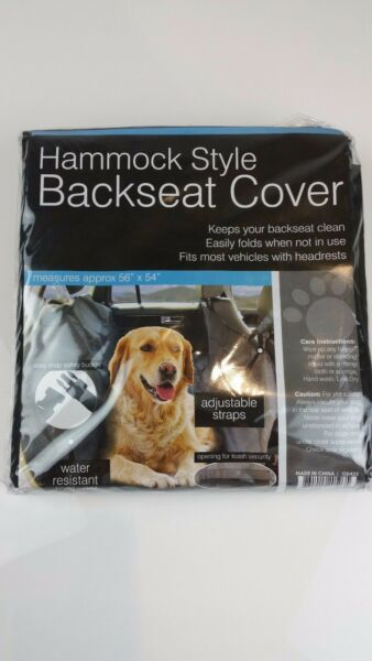 Hammock Car Backseat Cover Protector For Dog Cat Pets Travel Water Resistant $15.99