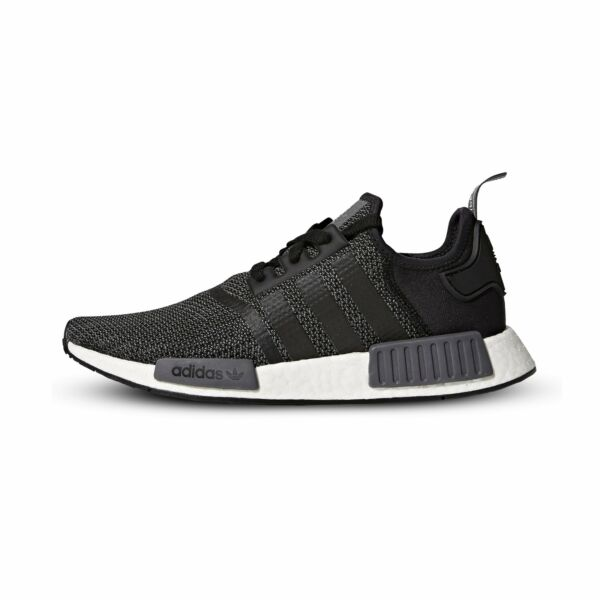 [B79758] New Men's ADIDAS Originals NMD_R1 Sneaker - Black Carbon White