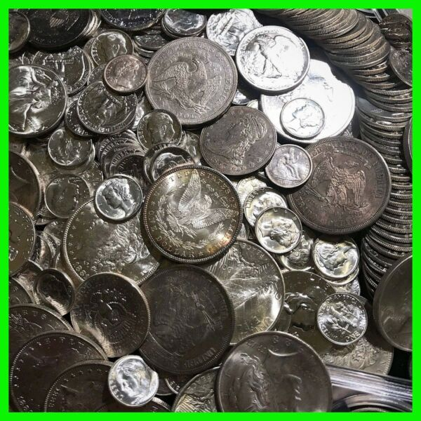 ✯90% SILVER US COINS LOT✯ UNC OLD ESTATE SALE LOT HOARD ✯Pre 1964 BULLION GOLD✯