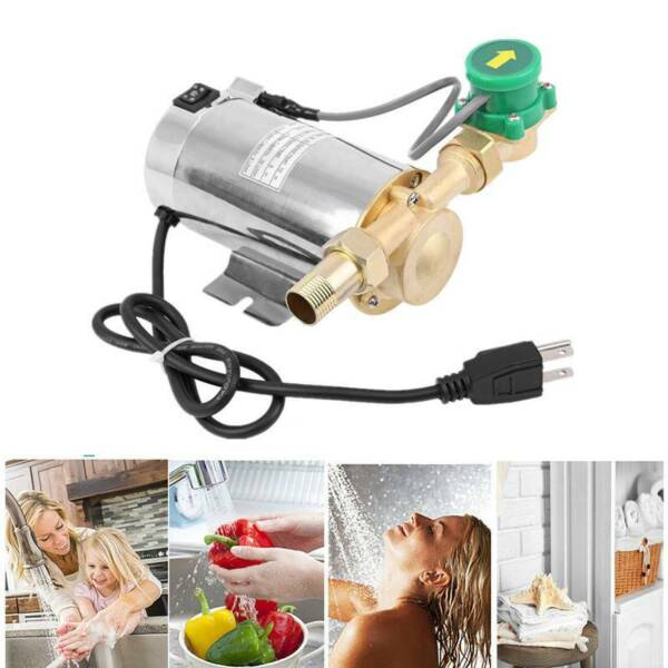 Water Booster Pump 90W 110V Electronic Automatic Home Shower Washing Machine