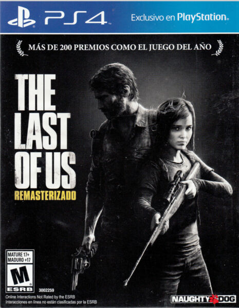 The Last of Us Remastered PS4 Sony PlayStation 4 Brand New