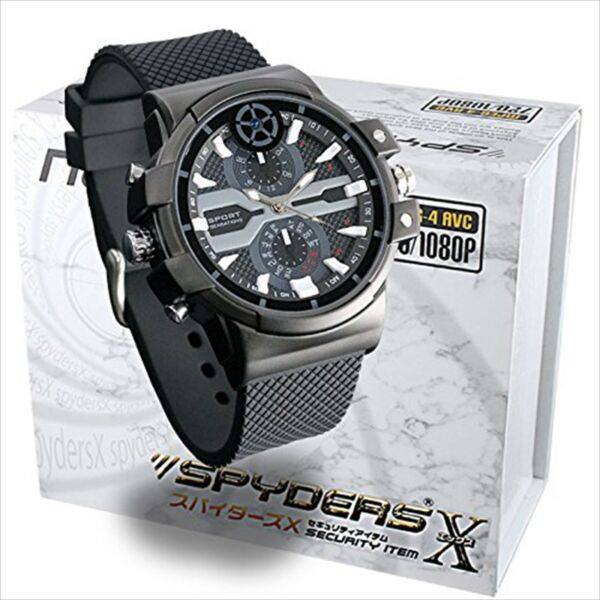 Wristwatch type spy camera W-707 Spiders X Free Shipping from JAPAN