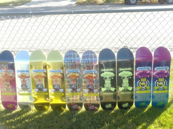 Santa Cruz X Garbage Pail Kids Skate Deck lot (10)