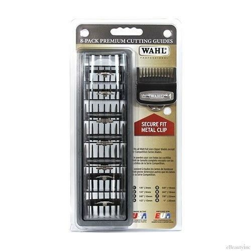 Wahl Pro 8 Pack Cutting Guides Metal Clips 3171-500