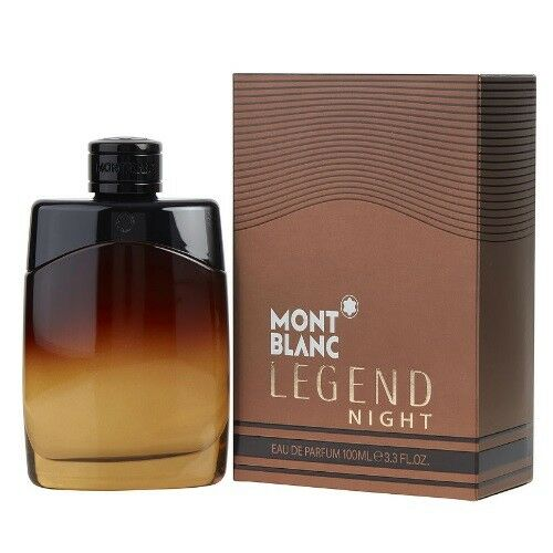 Mont Blanc Legend Night 3.3 3.4 oz EDP Cologne for Men New In Box