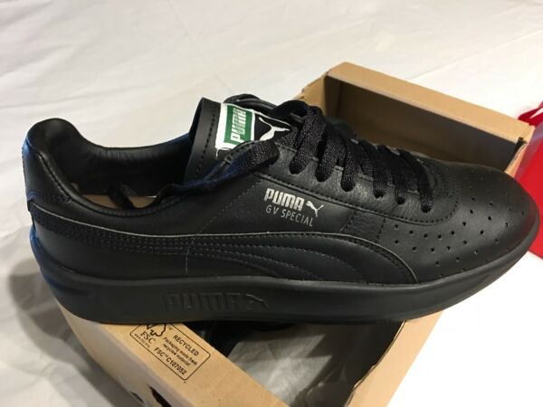 NEW Puma GV Special All Black Classic Men's 9M Authentic US FREE Shipping in USA