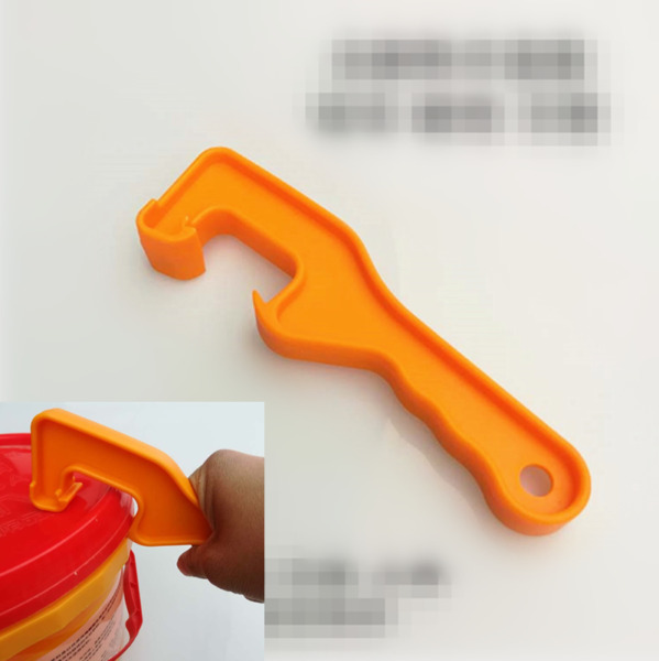 ABS Gallon Bucket Pail Paint Can Lid Opener Opening Tool For Home Office Kitchen