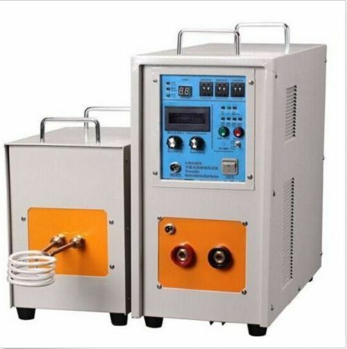 60KW 30-80KHz High Frequency Induction Heater Furnace LH-60AB good!