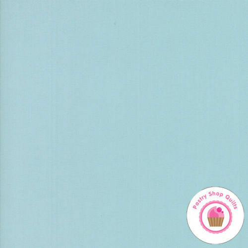 Moda Wild amp; FREE 9900 37 Aqua Light Baby Blue BELLA SOLID Quilt Fabric