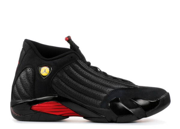 2018 Air Jordan Retro 14 XIV Last Shot 487471 003 Black Red