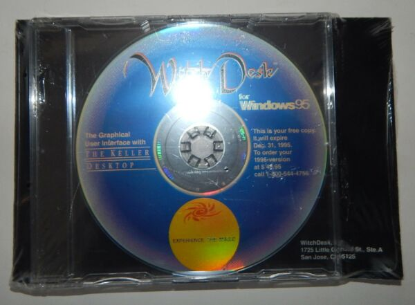 Witch Desk Promo Sealed Windows 95 Keller Desktop R17734