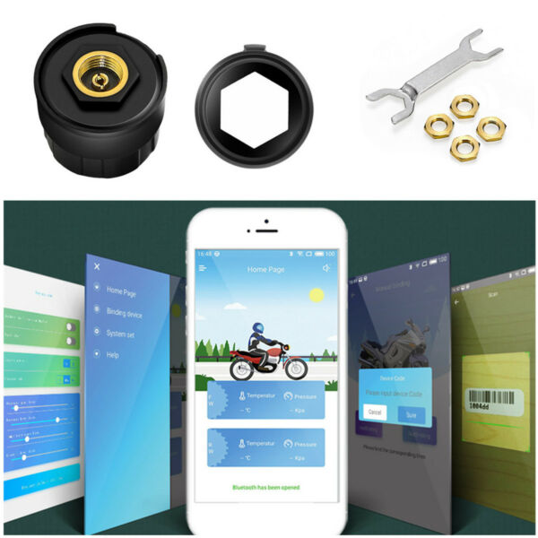 Motorcycle TPMS Diagnostic Tool ARM M0 Processor For Bluetooth 4.0 AndroidIOS