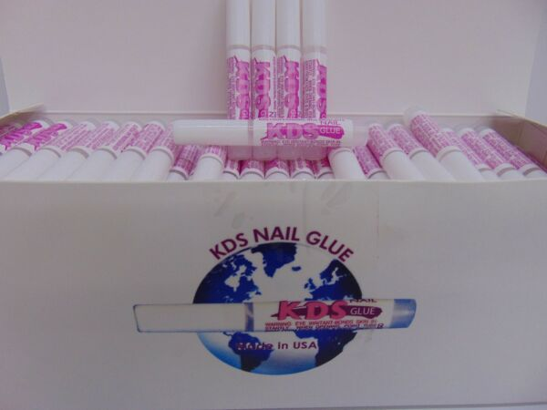 KDS - Professional Nail Tip Glue - Choose From 10pc - 250pc $7.95