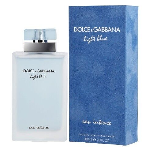 Light Blue eau Intense by Dolce amp; Gabbana Damp;G EDP Perfume for Women 3.3 3.4 oz