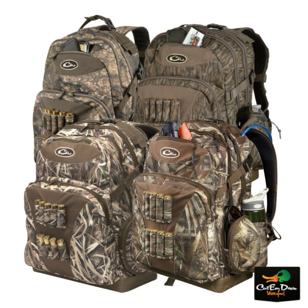 DRAKE WATERFOWL SYSTEMS SWAMP SOLE WALK IN BACK PACK CAMO BLIND BAG